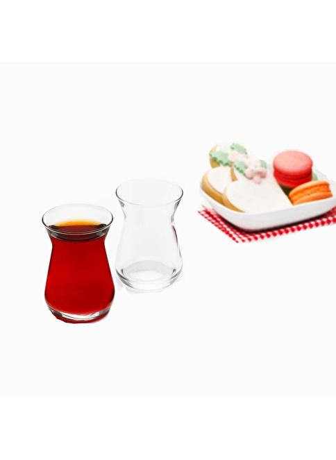 Paşabahçe 6 Lı Çay Bardağı Renksiz